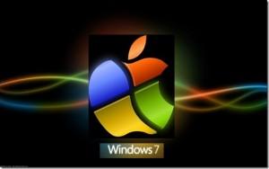 Apple et Microsoft avec Windows 7