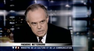 Frédéric Mitterand sur TF1
