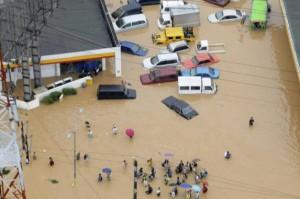 Inondation aux Philippines