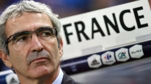 Raymond Domenech et Equipe de France