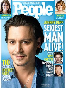 Johnny Depp sur People