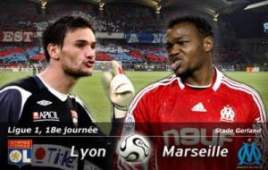 Lyon contre Marseille