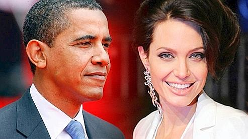 Obama vs Angelina Jolie