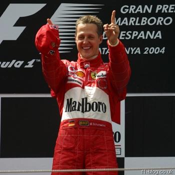Schumacher en Formule 1