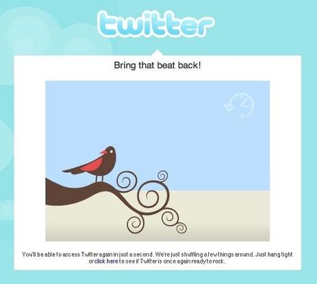 Twitter vers la pub
