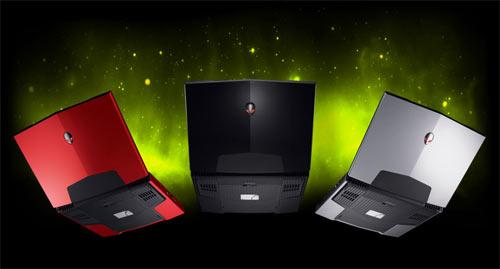 Alienware les coloris