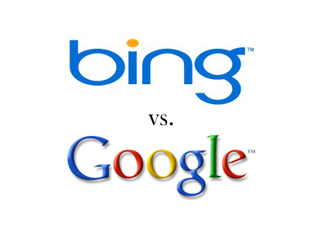 Bing contre Google