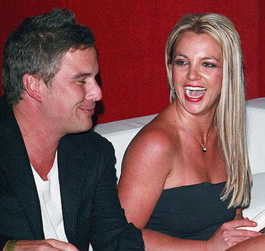 Britney Spears et son compagnon Jason Trawick