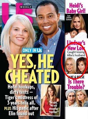 Couverture de Us Weekly Jessica Alba Lindsay Lohan