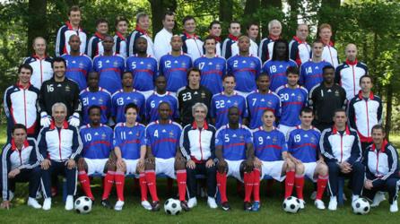 Equipe de France Coupe du monde 2010