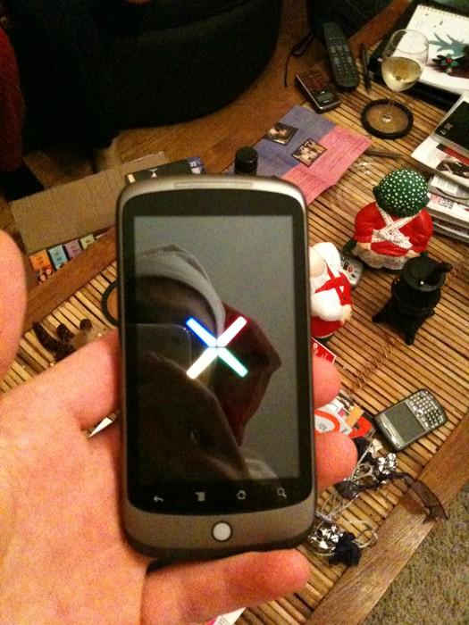 Le Nexus One ou G-Phone