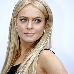 Lindsay Lohan pose pour Fame