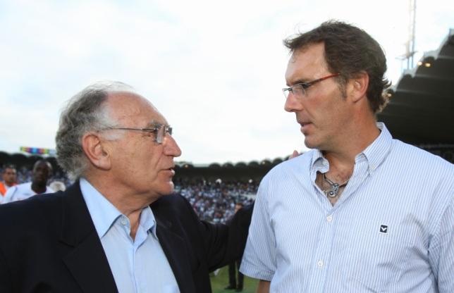 Laurent Blanc et Jean Pierre Escalettes