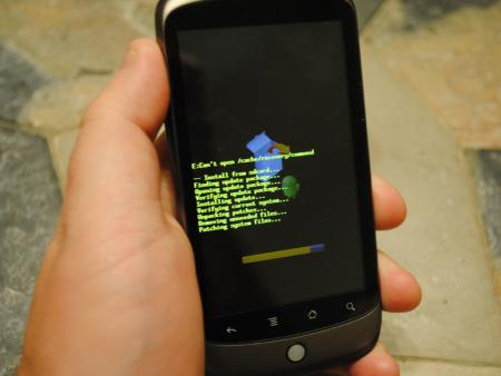 Maj Google Nexus One