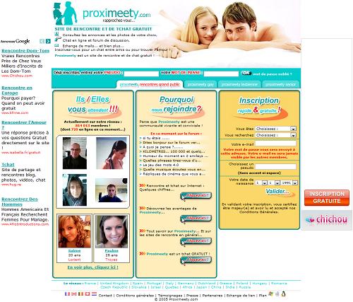 Avis site de rencontre proximeety