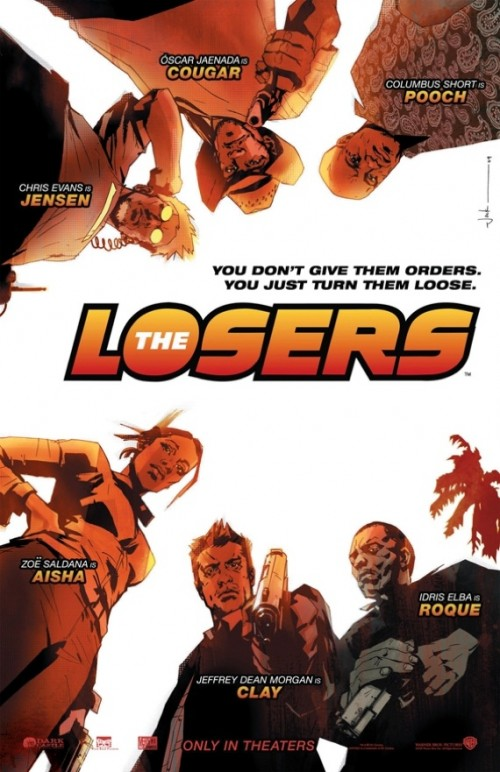 Affiche du film The Losers