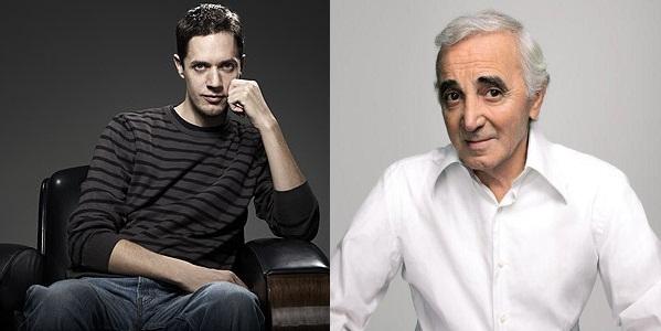 Aznavour et Grand Corps Malade