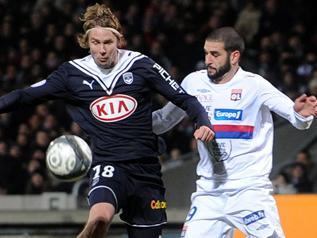 Lyon contre Bordeaux