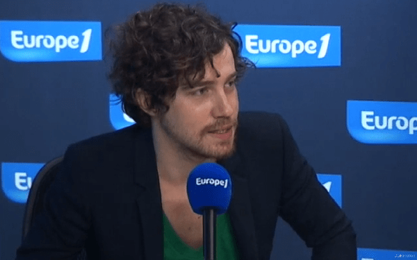Julien Doré sur Europe 1