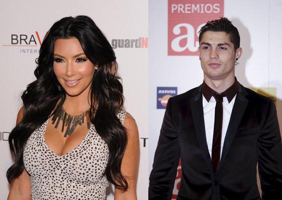 Kim Kardashian avec Cristiano Ronaldo