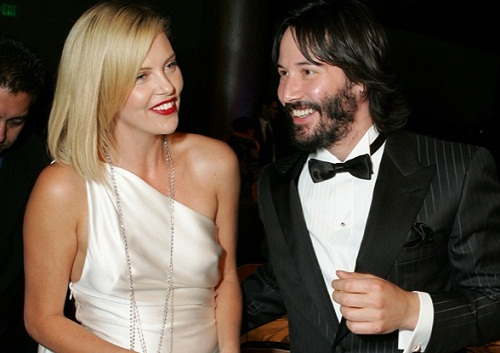 Charlize Theron et Keanu Reeves