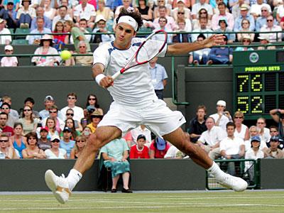 Federer à Wimbledon