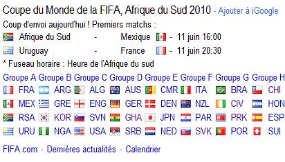 Jour J Coupe du Monde