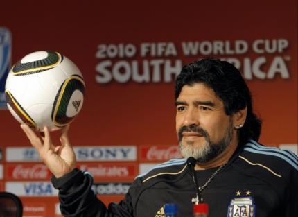 L'entraineur de l'Argentine