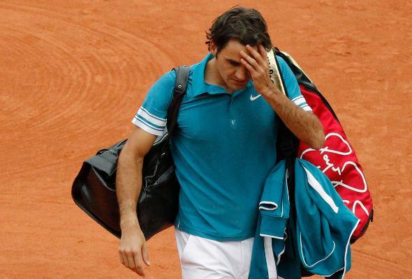 Roger Federer quitte Rolland Garros