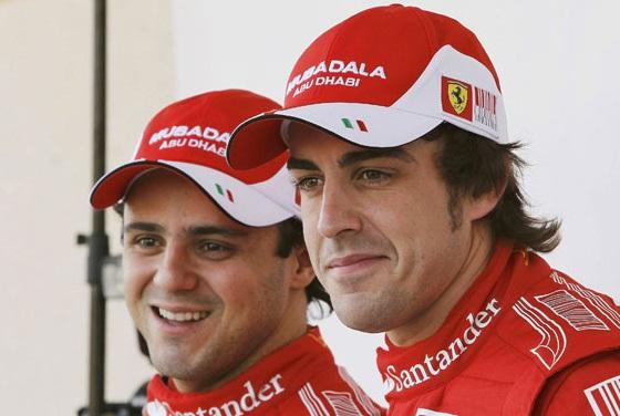 Alonso et Massa