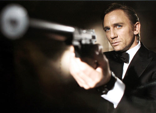Daniel Craig le James Bond