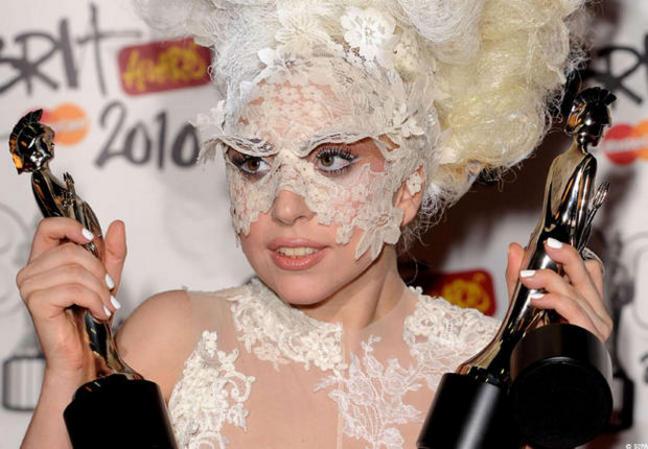 Lady Gaga et le Guiness des Records