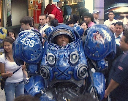 Starcraft II Space Marine