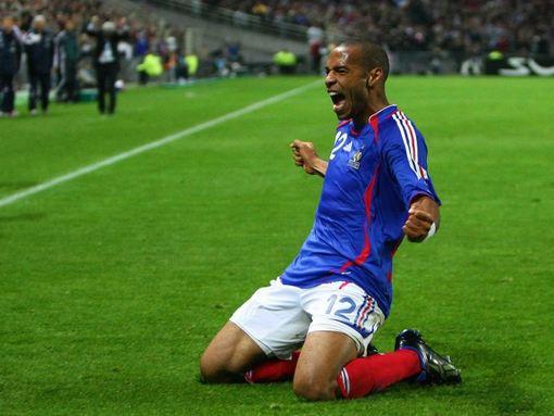 Thierry Henry dit adieu à l'équipe de France