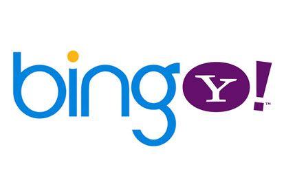 Bing et Yahoo!