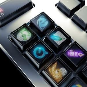 Clavier LCD de Microsoft