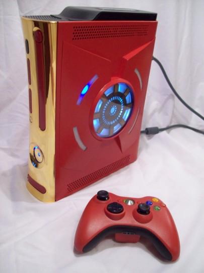 Mod Iron Man XboX 360