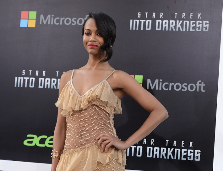 Zoe Saldana Into Darkness