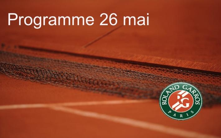 programme-roland-garros-26-mai-2013