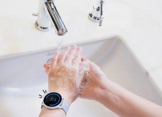 Galaxy-Watch-application-lavage-des-mains