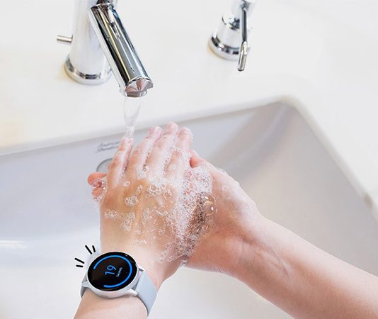 Galaxy-Watch-application-lavage-des-mains